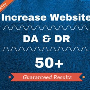 Increase Domain Authority 30