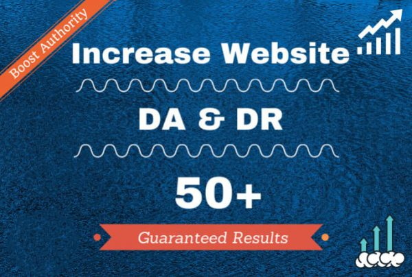Increase Domain Authority 50